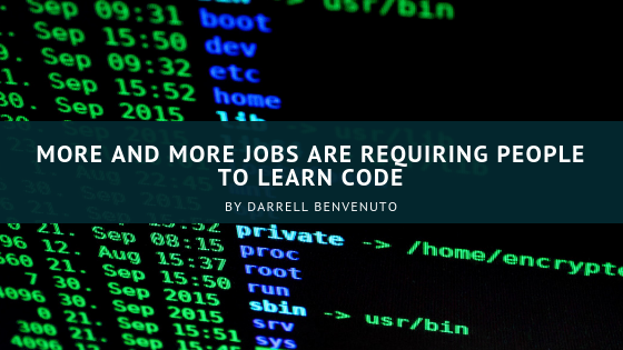 A Broader Range of Jobs are Requiring People to Code
